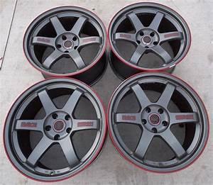 Volk Rims (Pre-owned Rays Racing Seibon Edition TE37 18 ...