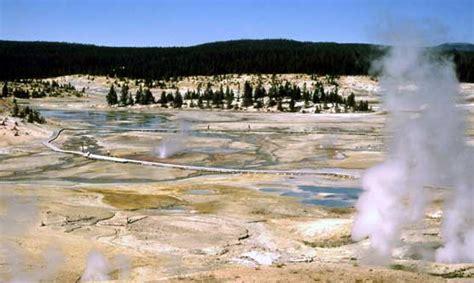 norris geyser basin  yellowstone national park