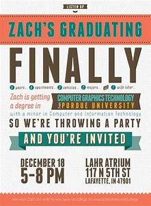 college grad announcement templates free typography style college graduation invitation