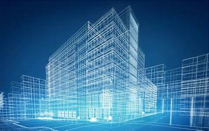 Blueprint Buildings Smart Architecture Abstract Architectural Building