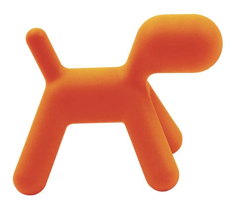 chaise de bureau orange chaise enfant puppy small l 42 cm orange mat magis