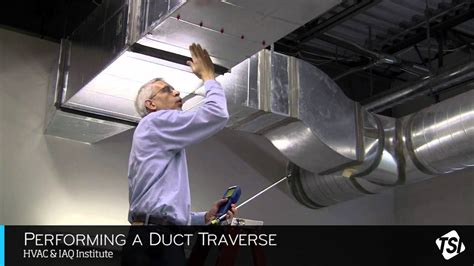 performing  duct traverse youtube