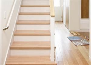 Escalier Droit Bois : pose d un escalier en bois ~ Premium-room.com Idées de Décoration