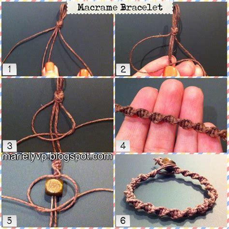 We Read Photo Tutorial Macrame Bracelet
