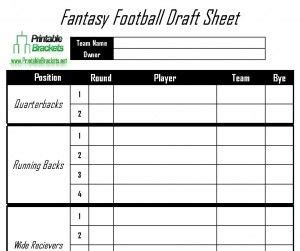 fantasy football draft sheet sports templates fantasy football draft sheet fantasy football