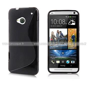housse htc one m7 coque htc one m7 801e s line silicone gel housse