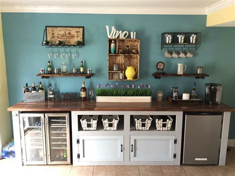 Empty kitchen cabinets, accessible countertops, or mobile bar carts) and fill it with everything you. Pin by Amanda Perez on Kitchen   Coffee bar home, Coffee bar design, Coffee bar station