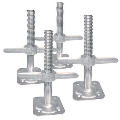 MetalTech Leveling Jack (4 Pack) I IBSJP12H4   The Home Depot