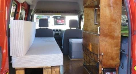 ford transit connect camper conversion kit