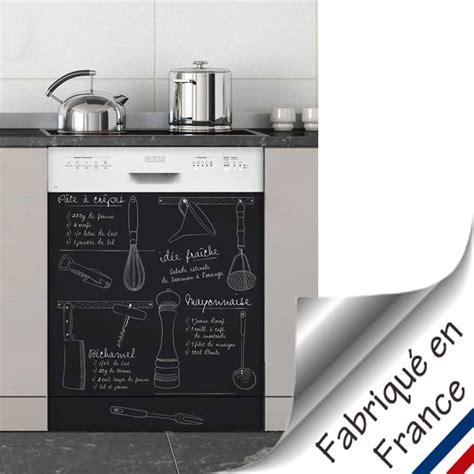 sticker meuble cuisine sticker lave vaisselle recettes 29 90 je cuisine