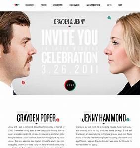 20 beautiful wedding invitation website designs hongkiat With wedding invitation website creation