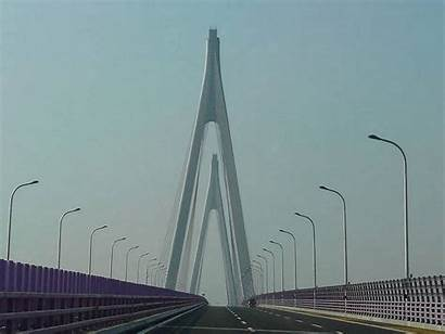 Bridge Hangzhou Bay Kunshan Danyang Grand Longest