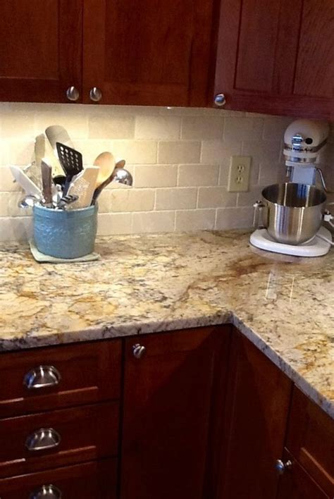 kitchen tile backsplash ideas with granite countertops backsplash help to go w typhoon bordeaux granite
