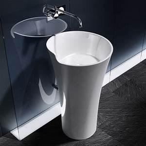 lavabo salle de bain castorama With salle de bain design avec lavabo sur pied castorama