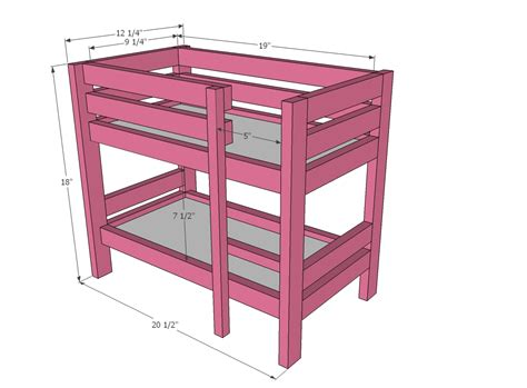american girl furniture plans   build diy