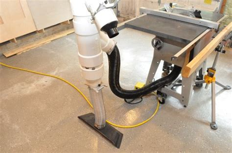 build  workshop dust management system  project closer