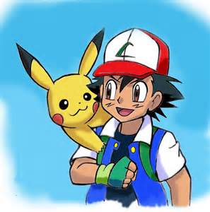 Pokemon Ash Ketchum Pikachu