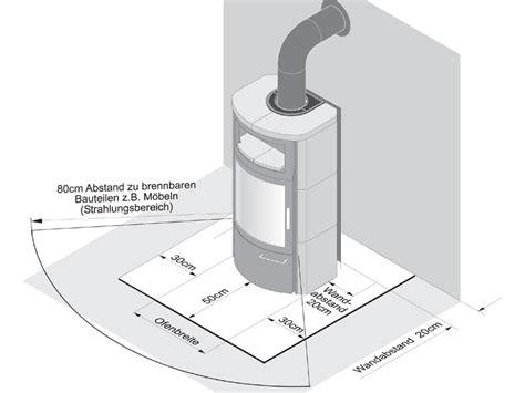 kaminofen aufstellen vorschriften notwendige abst 228 nde beim aufstellen eines kaminofen