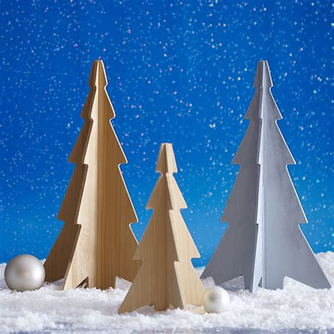 decorative wooden christmas trees decorative tabletop christmas trees