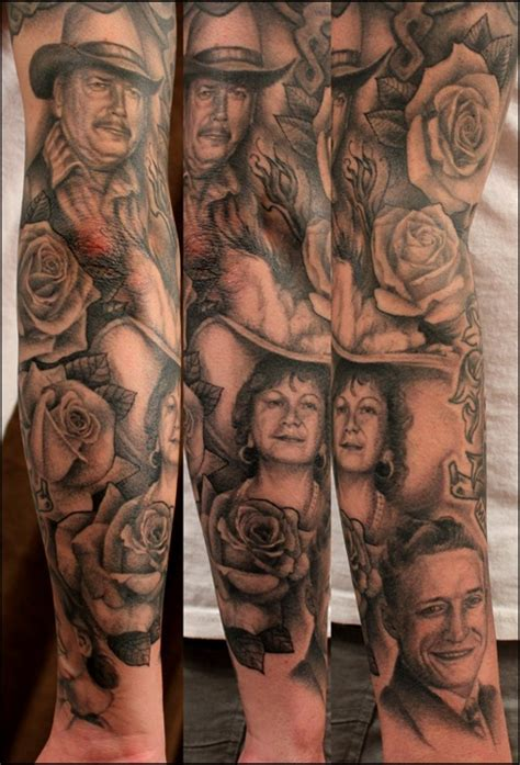 magnificent family portrait sleeve