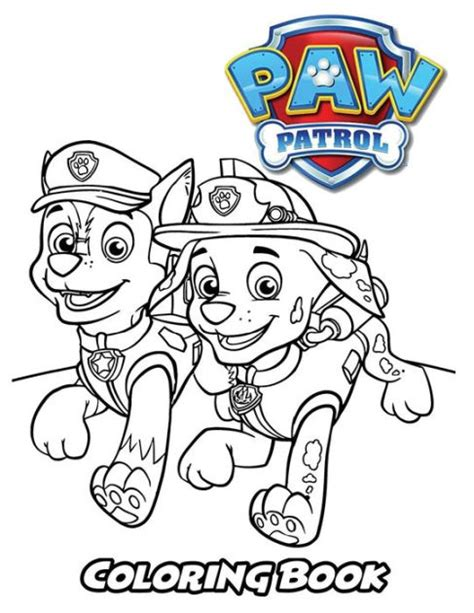 Paw Patrol Coloring Book: Coloring Book for Kids and