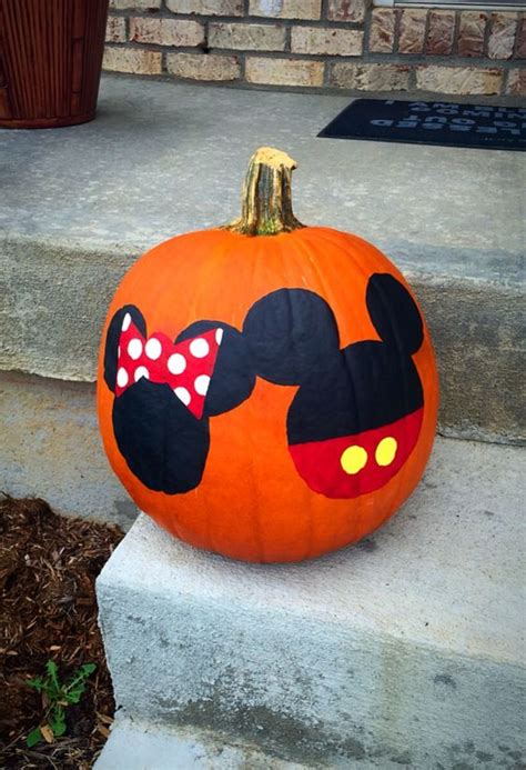 mickey mouse pumpkin ideas minnie mouse pumpkin minnie mouse and mice on pinterest