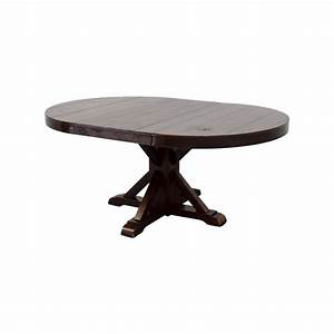 69 off pottery barn pottery barn wood extendable dining With barn wood dinner table