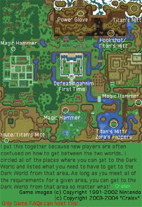 link to the past map my