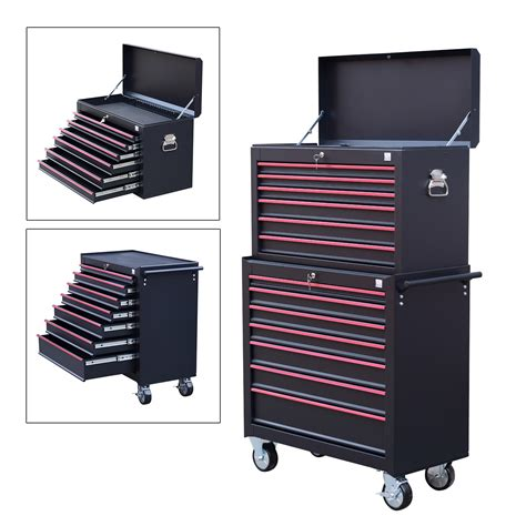 Heavy Duty Tool Storage Cabinet Box Steel Chest 7 Drawers