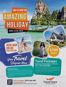 Travel Agency Business Flyer Template - Download Travel