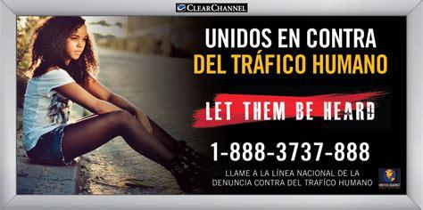 human trafficking billboard spanish  fbi