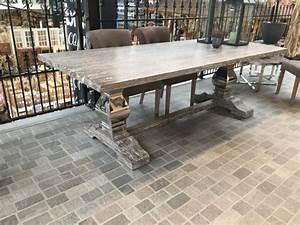 Klostertisch Esstisch Aus Massivholz Tisch Im