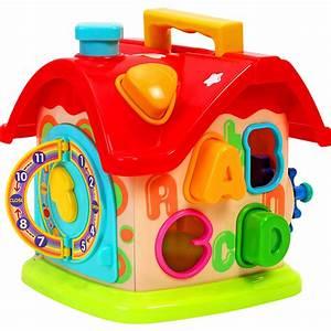 Maison D éveil : jouet d 39 veil b b maison formes 40 sur allob b ~ Teatrodelosmanantiales.com Idées de Décoration