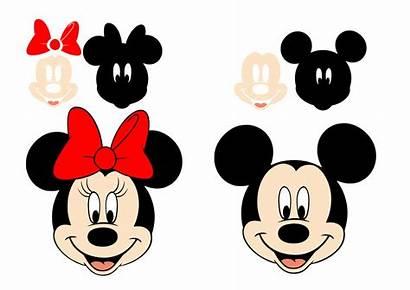 Minnie Mickey Svg Mouse Cricut Disney Silhouette