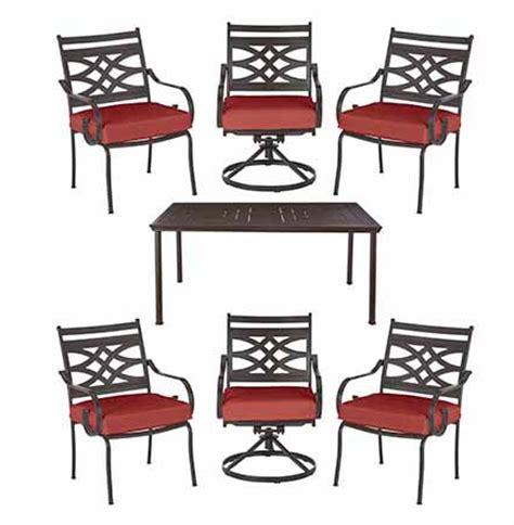 ended home depot hton bay 7 patio dining set