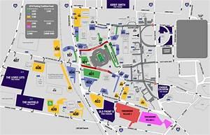 Kent State University Parking Map