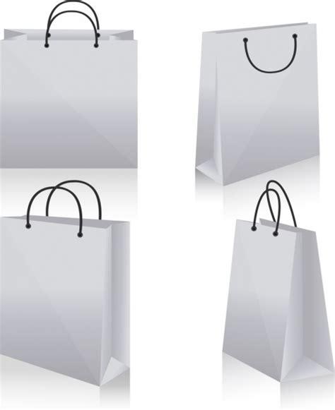shopping bag design shopping bag icons design 3d white blank sketch free