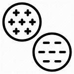 Icon Negative Positive Cluster Open Icons Editor