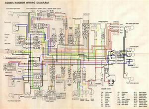 83 Yamaha 400 Xs Wiring Diagram