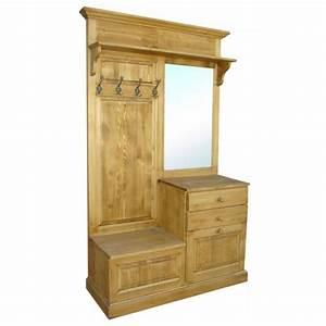 vestiaire bois with vestiaire bois perfect with With porte d entrée pvc avec meuble de rangement salle de bain la redoute