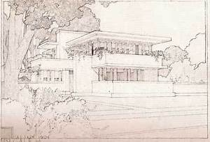 DRAWINGS OF FRANK LLOYD WRIGHT Drexler MoMA 1962 ...