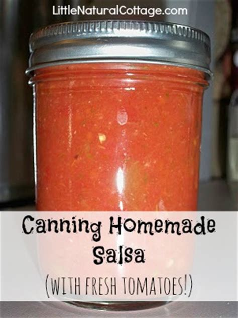 Fresh tomatoes are one of my favorite summer using fresh tomatoes gives homemade salsa a (shocker) fresher flavor than store bought salsa. Canning Homemade Salsa with Fresh Tomatoes - Kristy's Cottage