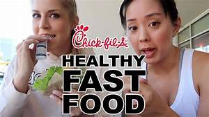 fast food healthy options at fil a