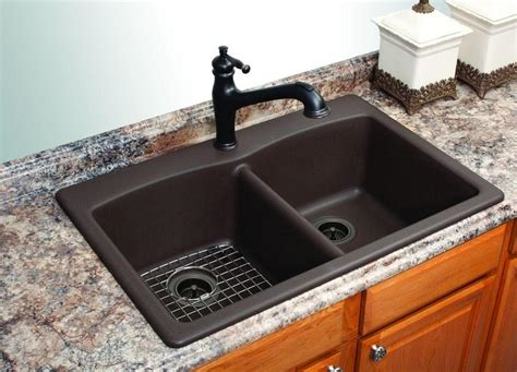 black granite kitchen sink black granite sink and faucet and photos 4681