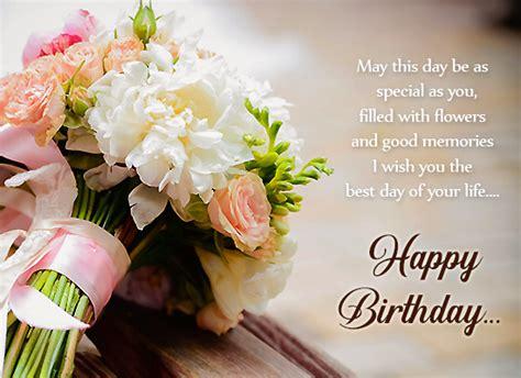 birthday wishes  special flowers  happy birthday ecards