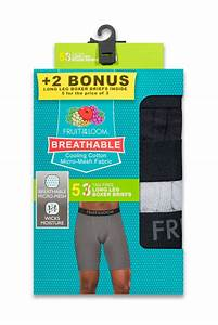 Fruit Of The Loom Men 39 S Breathable Cooling Cotton Long