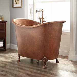 48, U0026quot, Abbey, Copper, Double-slipper, Clawfoot, Soaking, Tub, -, Bathtubs