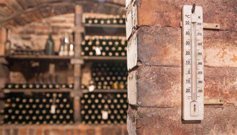 proper wine storage  wine cellars managing temperature