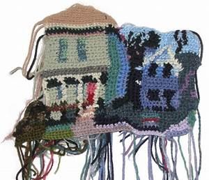 I Crochet Portland detail Joe's House Jo Hamilton Art
