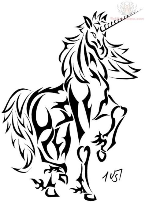 Unicorn Tattoo Images & Designs